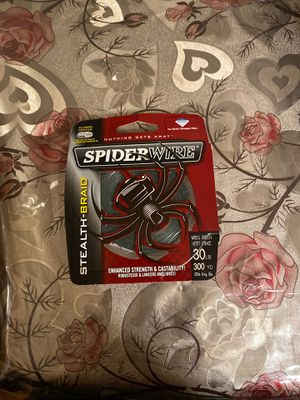 Spider Wire Fishing Line for Sale in Salinas, CA