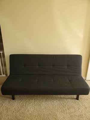 Black futon for Sale in Snohomish, WA