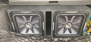 """Two kickers 15"""" subwoofers for Sale in Morningside, MD"""