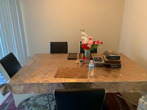 Dining table with four chairs for Sale in Alexandria, VA