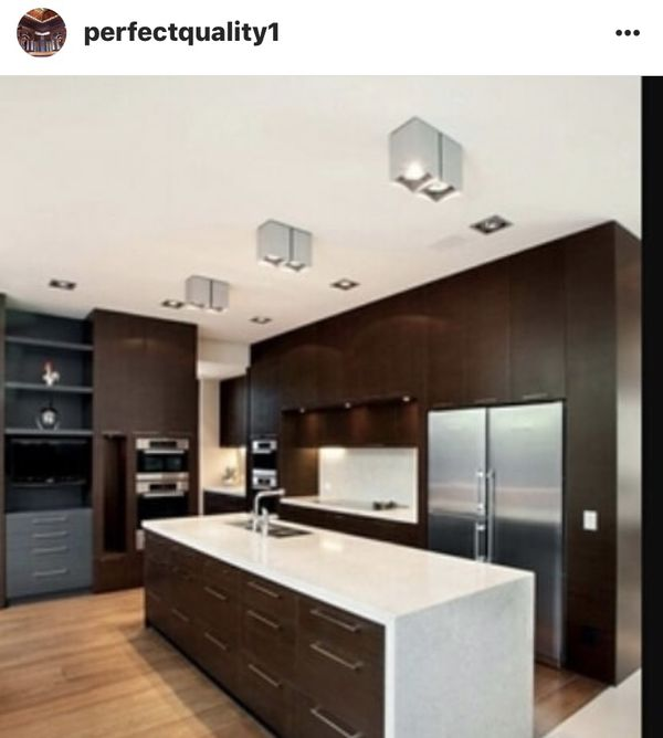 Kitchen cabinets custom made all included