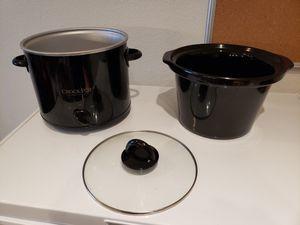 2 qt Crockpot, like new for Sale in Oak Point, TX