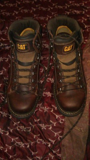Caterpillar work boots 10.5 for Sale in San Bernardino, CA