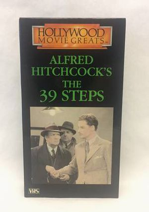 Alfred Hitchcock's The 39 Steps black and white movie on VHS tape for Sale in Phoenix, AZ