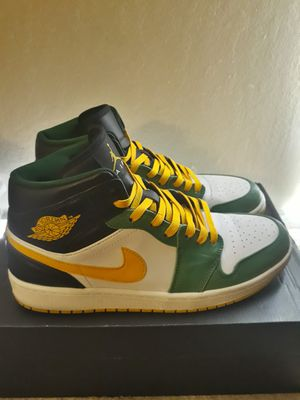 "Jordan 1 ""Seattle Supersonics"" (size 9.5 men's) for Sale in Walnut Creek, CA"