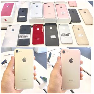 $250**Unlocked IPhone 7 32GB for Verizon/AT&T/Cricket/Sprint/Boost/T-Mobile/Metro/Mexico/International use for Sale in Milwaukie, OR
