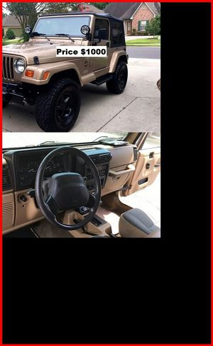 ֆ1OOO Jeep Wrangler for Sale in Palmdale, CA