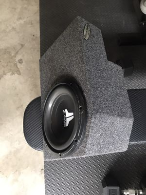 JL audio in a custom small box enclosure for Sale in Fullerton, CA