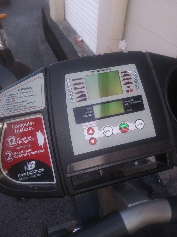 Newbalance 6200 recumbent bike