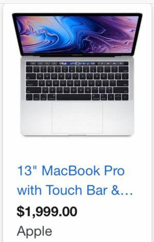 2019 Apple Macbook Pro for Sale in Washington, DC