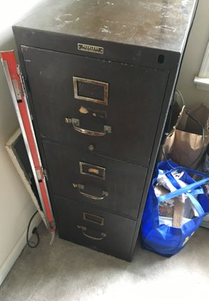 Antique file cabinet for Sale in Norcross, GA