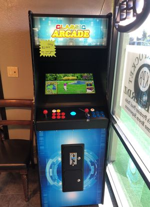 Classic Arcade with 2100 games and Trac ball for Sale in Mill Creek, WA