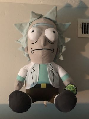 Giant Rick Plushie, (RICK AND MORTY) for Sale in Columbus, OH
