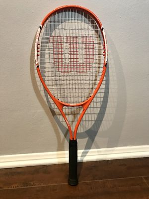 Wilson Fusion XL Tennis Racket for Sale in Los Angeles, CA