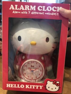 Brand New Super Cute Hello Kitty Alarm Clock Now for Only $25!! for Sale in Los Angeles, CA