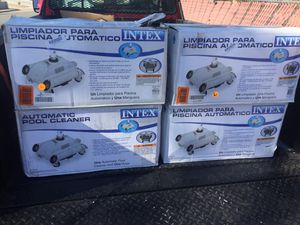 Intex automatic pool cleaner above ground pools for Sale in Las Vegas, NV