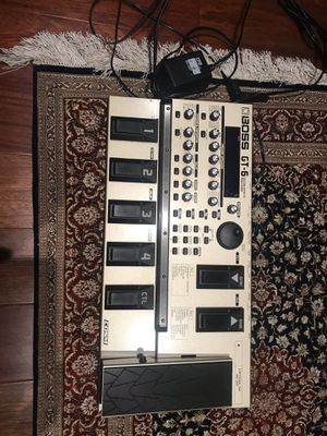 BOSS GT-6 Guitar Effects Processor for Sale in Tacoma, WA