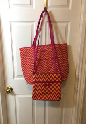 Vera Bradley, set of 1 purse and matching tote bag for Sale in Euless, TX
