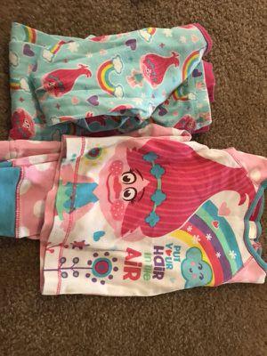 Trolls pjs 2 shirts 2 pants size 3T for Sale in Marysville, WA