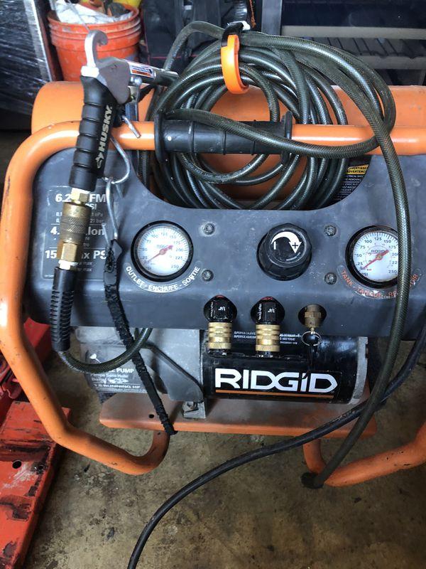 Ridgid Air Compressor - 4.5 Gallon