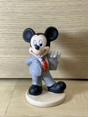Vintage Walt Disney World Mickey Mouse Mickey Suit Porcelain Figurine Business for Sale in Los Angeles, CA
