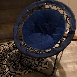 Urban Shop Bungee Saucer Chair, Navy for Sale in Tacoma,  WA