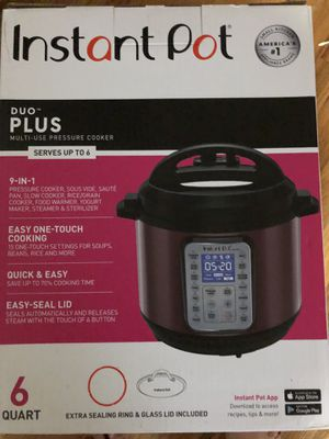 Instant pot 6 quart 9 in one new for Sale in Long Branch, NJ