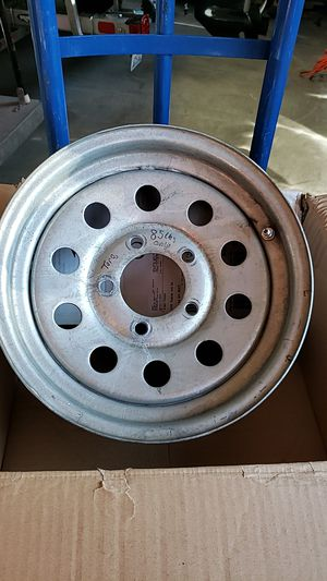 2 rim's from my boat trailer. 14x5.5 for Sale in Marysville, WA