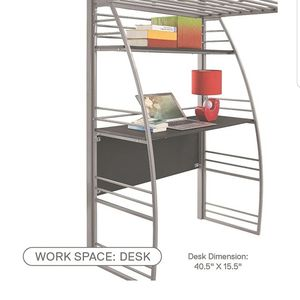 Bunk Bed With Desk for Sale in Seattle, WA