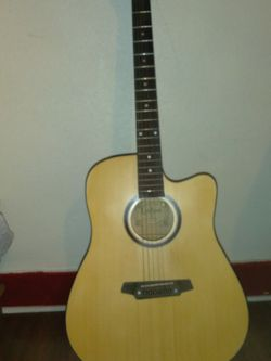 carlo robeli 6 string acoustic/electric guitar for Sale in Los Angeles,  CA