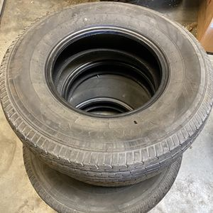 3x Used ST Trailer Tires ST 235x80-16 10 Ply $50 For 3 for Sale in San Bernardino, CA