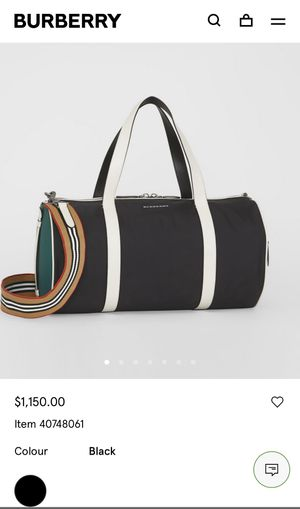 Burberry authentic with receipt unisex bag for Sale in Miami, FL