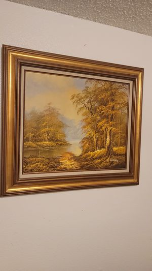 Painting with frame for Sale in Tacoma, WA
