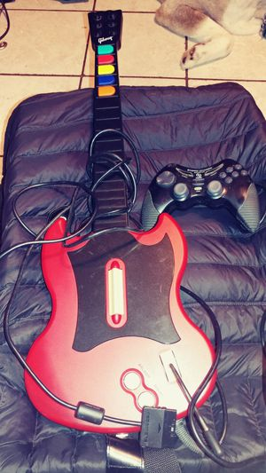 Guitar and controller for only $15 for Sale in NO HUNTINGDON, PA
