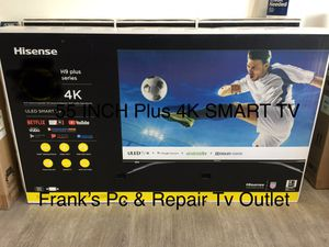 $39 DOWN/ 55 INCH HISENSE 240HZ PLUS 4K SMART TV 📺 for Sale in Chino, CA