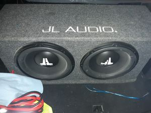 JL AUDIO SUBWOOFERS for Sale in STOCKRTWN Township, PA