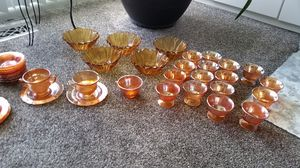 Gold carnival glass for Sale in UT, US