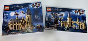 NEW Lego Harry Potter Hogwarts Great Hall 75954 & Hogwarts Whomping Willow 75953 for Sale in Nashville, TN