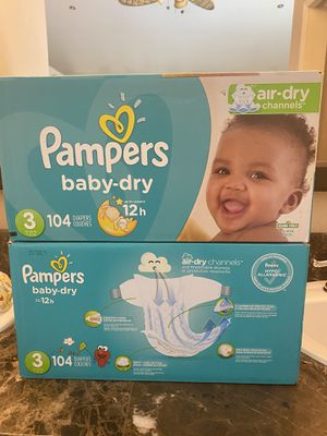 Pampers size 3 diapers for Sale in Fontana, CA