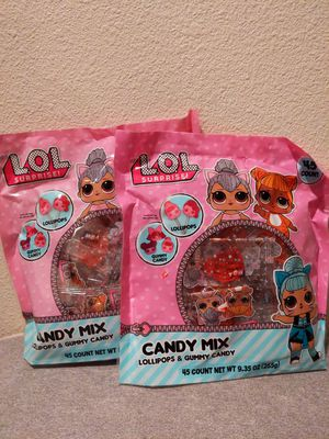 2 LOL Surprise candy bags for Sale in San Dimas, CA