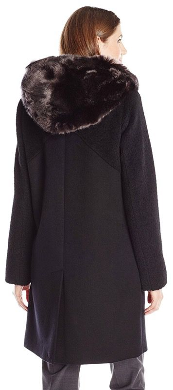 Designer - Dawn Levy Women's Lara Utility Wool Coat