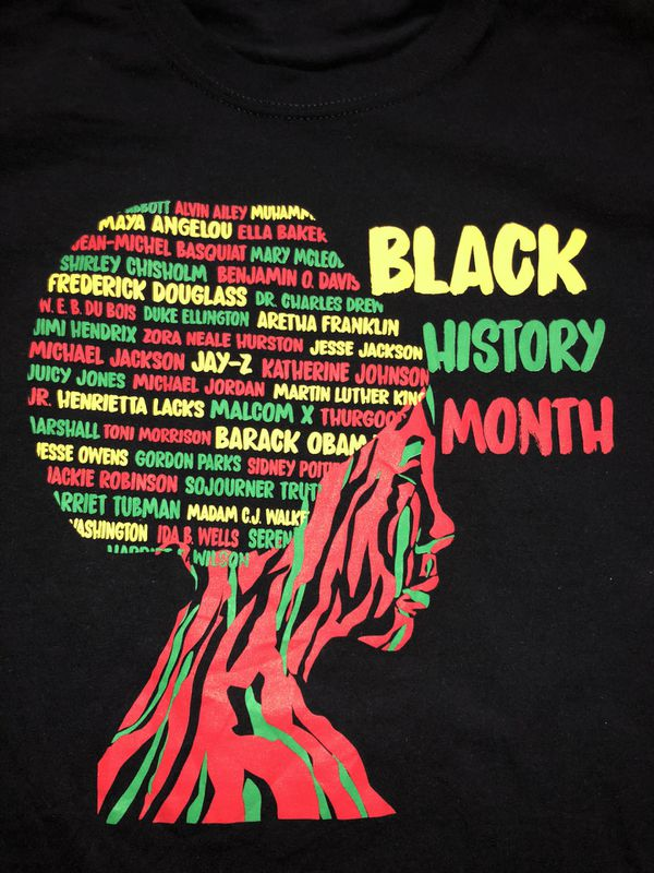 Black History Month BLM T Shirt Size Small