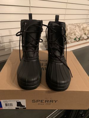 New authentic Sperry snow/rain women's boots for Sale in San Bernardino, CA