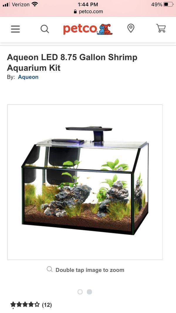 8.75 Gallon Aquarium & Stand
