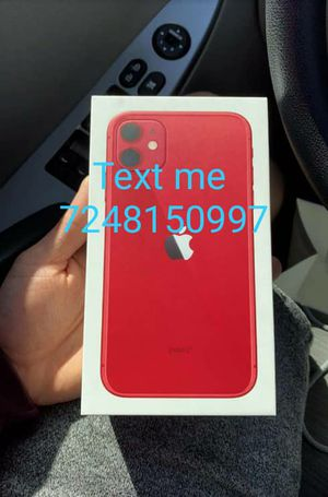 iPhone 11 red New Unlocked for Sale in Washington, DC