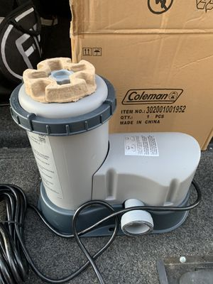 Coleman pool pump filter for Sale in Concord, NC