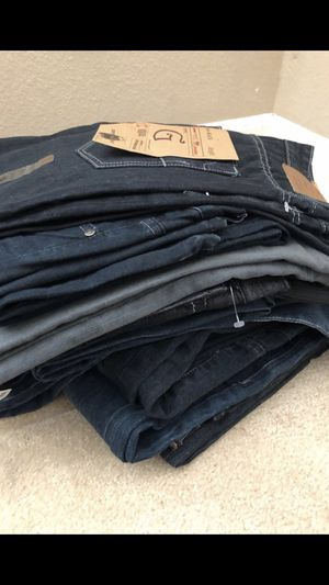 Men's jeans 10 pairs of new jeans. Size 32 for Sale in San Leandro, CA