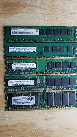 PC Memory's computer 5 pieces for Sale in Burlington, VT