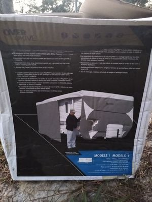 Travel trailer cover up to 20 ft. Brand new for Sale in Clermont, FL