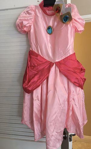 Girls size 7/8 Princess Peach costume for Sale in Rialto, CA